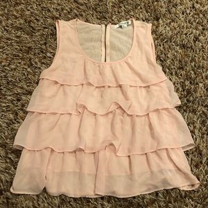 Forever 21 - ruffled tank top size Large